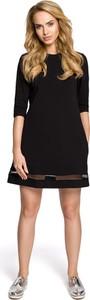 Czarna sukienka MOE z tiulu