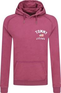 Różowa bluza Tommy Jeans