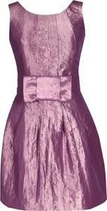 Sukienka Fokus z krótkim rękawem trapezowa