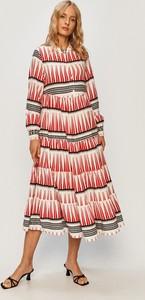 Sukienka Only z tkaniny