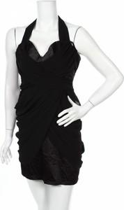 Czarna sukienka Blockout