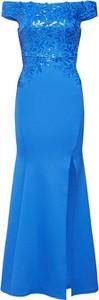 Niebieska sukienka Lipsy