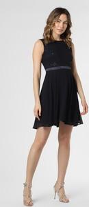 Sukienka Marie Lund bez rękawów z okrągłym dekoltem mini