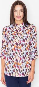 Koszula Figl w stylu casual z długim rękawem