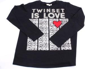 Czarna bluzka dziecięca Twinset