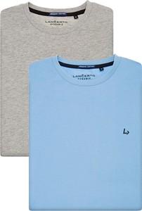 T-shirt LANCERTO z krótkim rękawem z bawełny