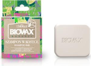 L'Biotica BIOVAX Botanic Szampon w kostce Czystek i Czarnuszka- 82g