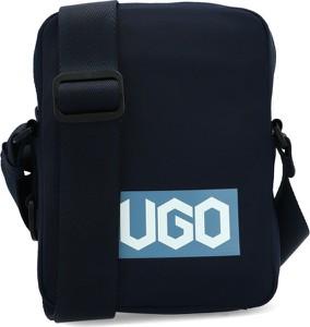 Granatowa torba Hugo Boss