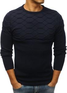 Niebieski sweter Dstreet w stylu casual