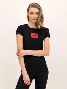 Czarny t-shirt Hugo Boss