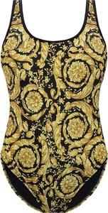 Złoty strój kąpielowy Versace