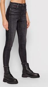 Czarne jeansy Tommy Jeans w stylu casual