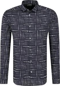 Koszula Emporio Armani z długim rękawem