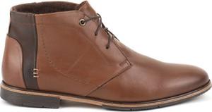 Akardo brązowe buty zimowe