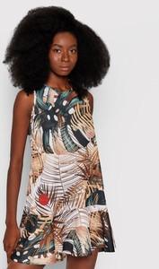 Sukienka Waikane Vibe z okrągłym dekoltem mini