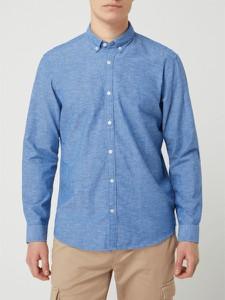 Niebieska koszula Esprit z długim rękawem w stylu casual