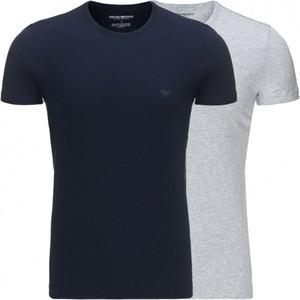 T-shirt Emporio Armani z krótkim rękawem z bawełny