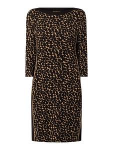 Sukienka Betty Barclay w stylu casual z bawełny z okrągłym dekoltem