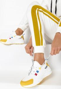 Buty sportowe Multu z zamszu sznurowane