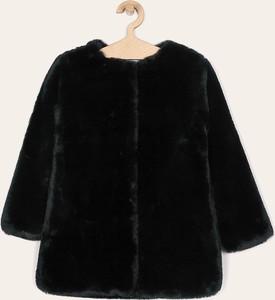 Czarny płaszcz dziecięcy Mayoral