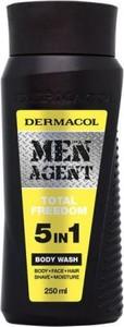 Dermacol Men Agent 5in1 Total Freedom Body Wash żel do mycia ciała 250ml