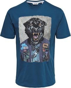 T-shirt Only&sons z krótkim rękawem w młodzieżowym stylu