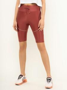 Różowe legginsy Nike w stylu casual