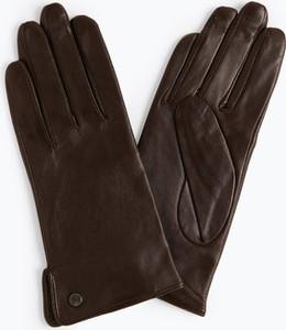 Brązowe rękawiczki Pearlwood