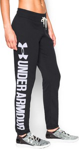 Termoaktywne spodnie damskie Favorite Fleece Boyfriend Pant ColdGear Fitted Under Armour