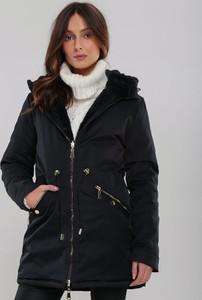 Granatowa kurtka Renee w stylu casual