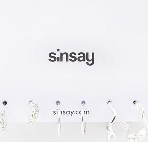 Sinsay - Kolczyki 3 pack - Srebrny