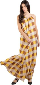 Sukienka Semicouture z dekoltem halter