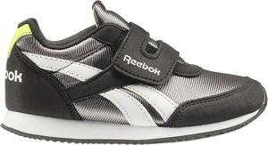 Czarne buty sportowe dziecięce Reebok na rzepy