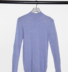 Niebieski sweter Asos w stylu casual