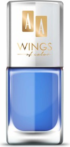 Oceanic AA WINGS OF COLOR Nail Lacquer Lakier do paznokci 12 Blue Iris 11ml