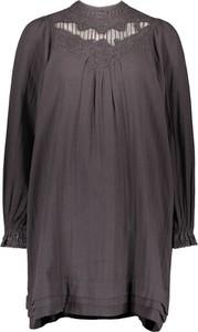 Sukienka Replay z okrągłym dekoltem mini