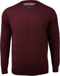 Czerwony sweter Adriano Guinari w stylu casual