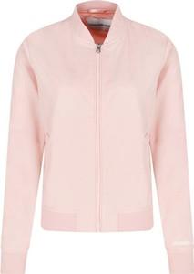 Różowa kurtka Calvin Klein w stylu casual