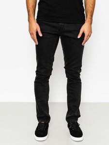 Czarne spodnie Volcom z bawełny
