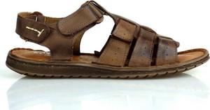 Buty letnie męskie Komodo na rzepy