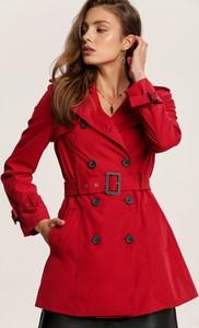 Czerwony płaszcz Renee w stylu casual