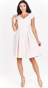Sukienka Milano Moda midi rozkloszowana