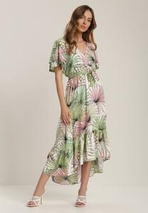 Sukienka Renee z dekoltem w kształcie litery v asymetryczna