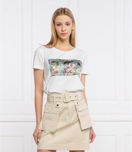 T-shirt Liu-Jo z okrągłym dekoltem