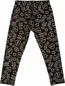 Czarne spodnie dziecięce Liu-Jo