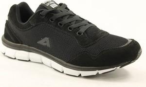 Czarne buty sportowe American Club sznurowane