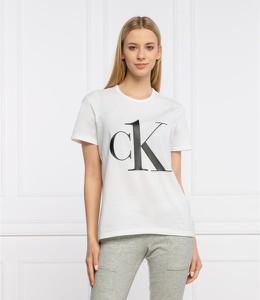 T-shirt Calvin Klein Underwear z okrągłym dekoltem z krótkim rękawem w młodzieżowym stylu
