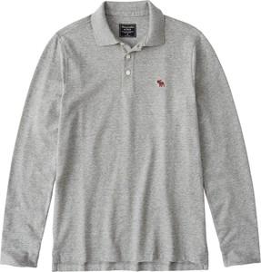 Koszulka polo Abercrombie & Fitch z dżerseju z długim rękawem