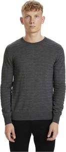 Sweter Matinique w stylu casual z okrągłym dekoltem