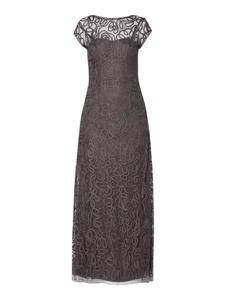 Sukienka Luxuar maxi z tiulu
